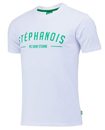AS Saint Etienne T-shirt voor heren, officiële collectie, maat voor volwassenen