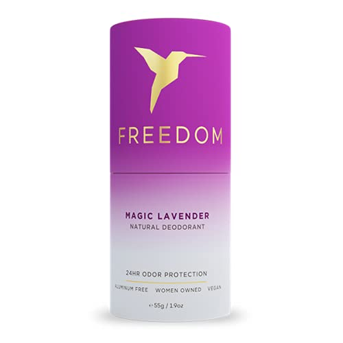 Freedom EWG Verified 100% Natural Eco-Friendly Aluminum Free Deodorant...