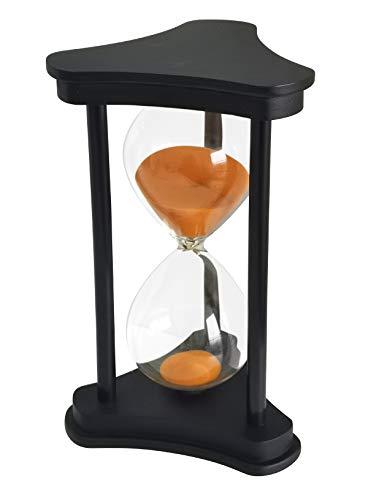 Timer Hourglass 30 Minutes Ornamento Timer Clessidra 30 Minuti Decorazione per Ristorante Soggiorno Casa Scrivania Camera Da Letto Festa In Festa Natale Sabbia Timer Orologio Sandglass Arancione
