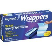 Reynolds Wrappers Aluminum Foil Sheets, 50-Count by Reynolds