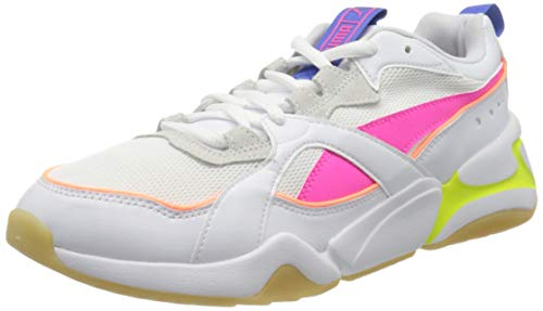 PUMA Nova 2 Wn's, Sneakers Donna, Bianco White/Plein Air, 37 EU