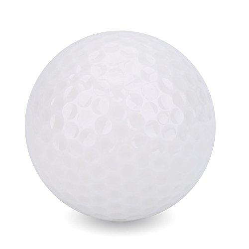 Alomejor 1 Stück Leuchtende Nacht Golfbälle Standard LED Leuchten Blinkende Neuheit Golfbälle Bestes Zubehör für Nacht Golfen