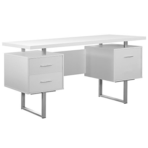 60 Inch Hollow Core Desk With Drawers