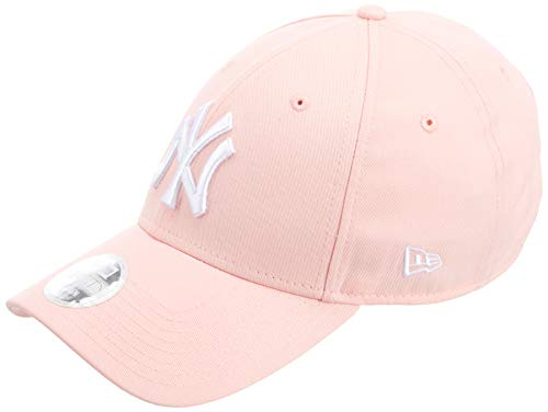 New Era Damen Kappe League Essential New York Yankees Kappe, Pastel Pink, One Size, 80489299