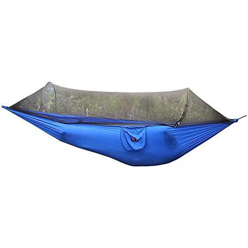 XHLLX Hamaca antimosquitos al aire libre Swing tienda aérea abierta rápidamente sin tirar de la cuerda fácil instalación