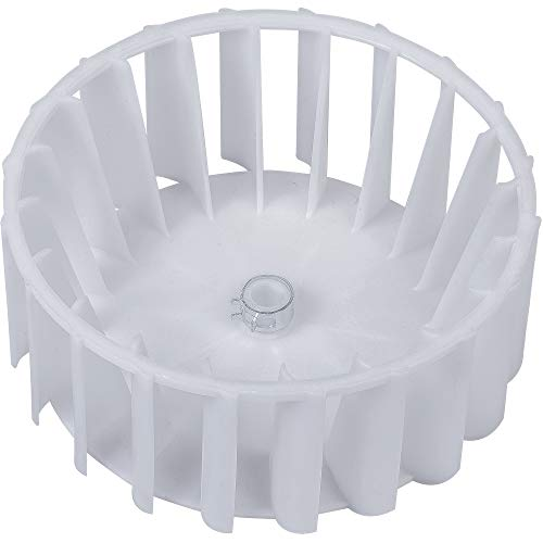 Ultra Durable 303836 Dryer Blower Wheel With Clamp Replacement Part By BlueStars - Exact Fit For Maytag Jenn-Air International Dryers - Replaces 1245880 AP4294048 Y303836 Y303836