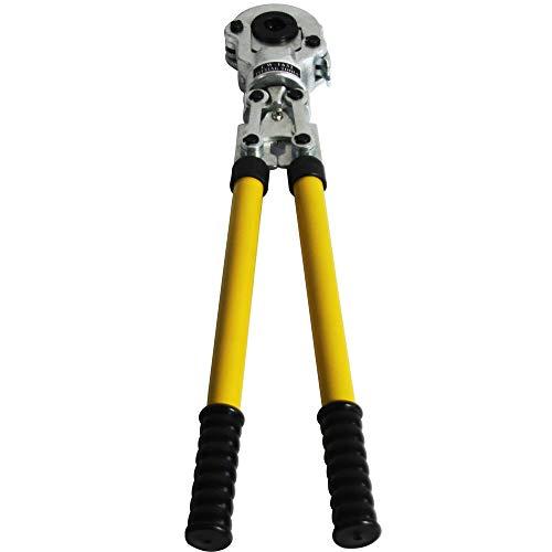 Alicates de engaste profesional multicapa, herramienta de engaste para tuberías de 16 a 32 mm, con cabezal giratorio