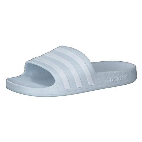 adidas Adilette Aqua, Slide Sandal Mujer, Halo Blue/Footwear White/Halo Blue, 44.5 EU 🔥