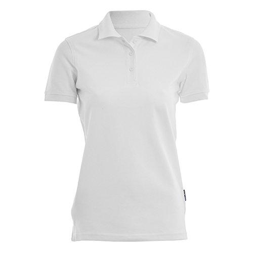 HRM Damen Heavy W Poloshirt, Weiß (White 02-White), Medium
