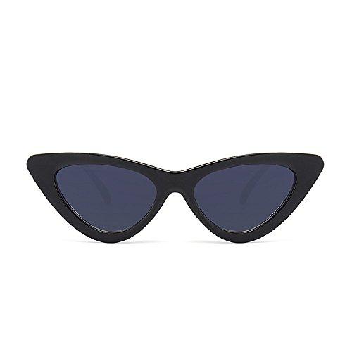 Topgrowth Occhi di Gatto Triangle Occhiali da Sole Donna Vintage Retro Eyewear Integrato UV Caramelle Colorate Bicchieri (HE1)