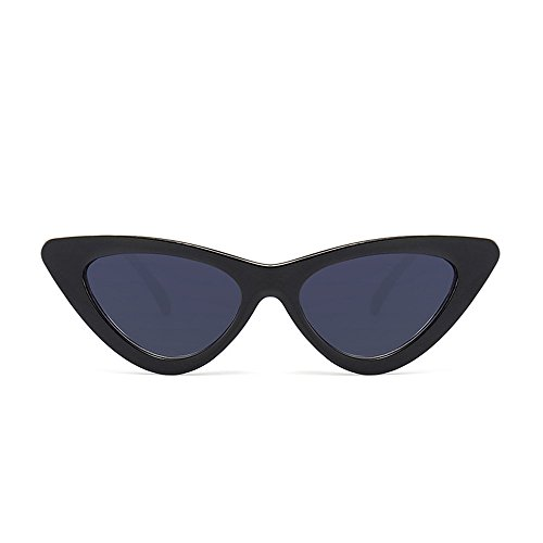TW-Gläser TWISFER Cat Eye Sonnenbrillen Vintage Retro Randlos Strand Brille Damen Frauen(J,One Size)