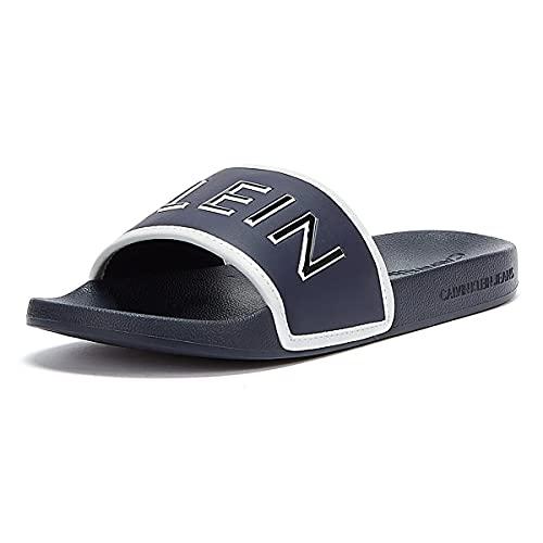 Calvin Klein YM0YM00073 Calzatura Ciabatta Uomo Blu CHW 44