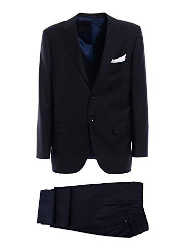 Kiton Luxury Fashion Herren 2N1304 Blau Wolle Anzuge | Frühling Sommer 20