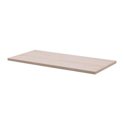 IKEA イケア NASTEN テーブルトップ - メープル調 120x59 cm 403.172.38の写真