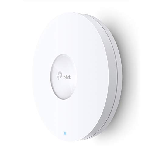 TP-Link Wi-Fi 6 Wireless Access Point, Dual Band AX3600, a 2.5 Gbps Ethernet port support 802.3at PoE+, Ultra-High Performing Enterprise Wireless for High-Density Environments(EAP660 HD)