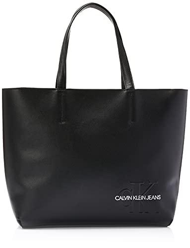 Bolsa Grande Ombro, Calvin Klein,Feminino,Preto,U