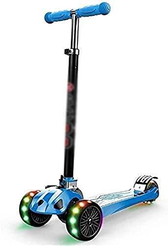 JSL Scooters para niños Scooters para adultos Barras Scooter Scooter Adulto Scooter Ruedas Kick Plegable para 3 – 18 años Edad Adolescente Altura Ajustable Bar Kick Seguridad