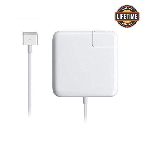 Mac Book Pro Charger, Great Replacement 60W T-Tip Magsafe 2 Magnetic Power Adapter Charger for MacBook Pro 11-inch and 13-inch(After Late 2012)