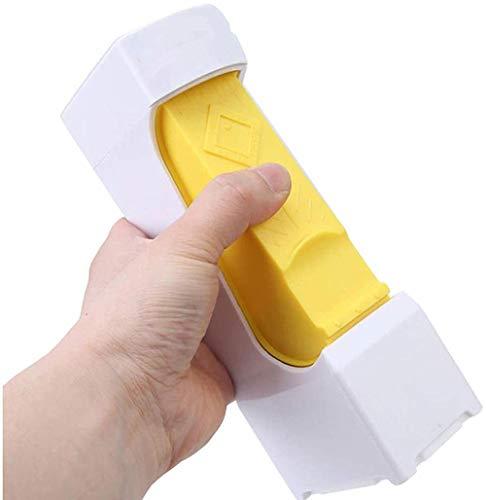 Cortador de mantequilla con un clic, separador de queso, para almacenar mantequilla para hacer pan, pasteles, galletas