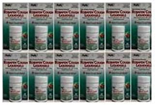 Robafen Cough Liquidgels Dextromethorphan HBr, USP 15mg, 20 Liquidgels (12 Packs)