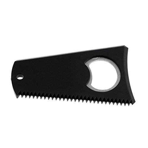 Surfboard Wax Comb - Surfbrett Wachs Entferner Kamm (Schwarz)