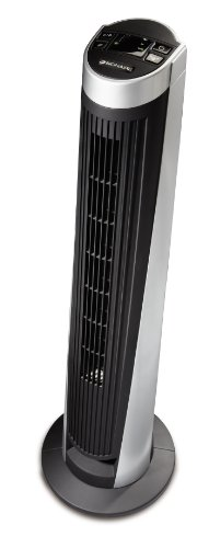 Bionaire 5 Speed 40 inch(s) Slope Flow Oscillating Tower Fan, with Remote