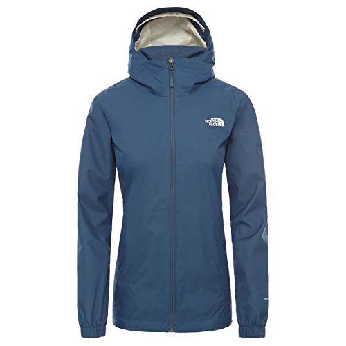 The North Face Quest A8BA Blue Wing Teal - Chaqueta impermeable para mujer,...