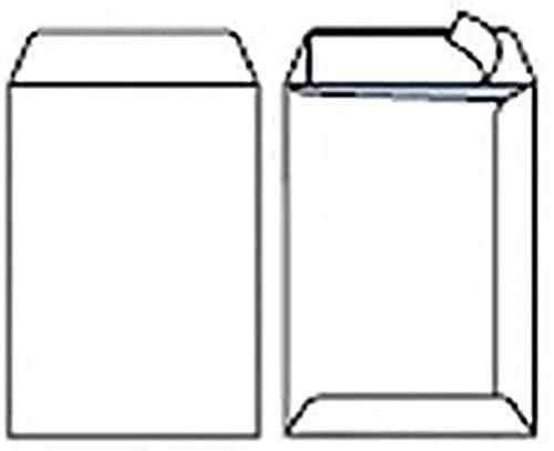 Pigna Competitor CF100, Buste Sacco, 16 x 23 cm, Bianco