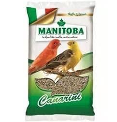 Miscuglio Canarini 1 kg mangime con semi e biscotto Manitoba