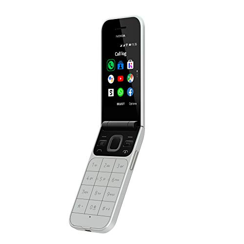 Nokia 2720 - Portátil Libre 4G (2,8 Pulgadas, 4 GB de Almacenamiento, Doble SIM, KaiOS 2.5)