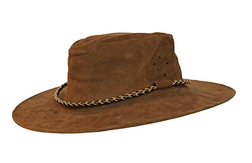 Kakadu Traders Roo Leather Hat Southern Cross, made in Australia