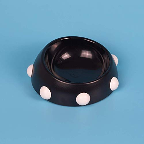 ZLPER Cuenco for Perros Criado for Perros Pet Food Bowls Puppy Bowls Sin derrame Colorido Anti Hormigas Alimentador de Agua Comer un tazón for Animales pequeños