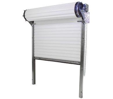 Model 3100 [14' (w) x 14' (h)] Heavy Duty Rolling Commercial Steel Roll-Up White Door