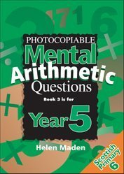Year 5 Photocopiable Mental Arithmetic Questions: Bk. 3 (Ks2 Numeracy Resources) by Helen Maden (1999-09-01)
