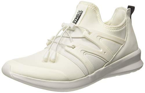 Amazon Brand - Symbol Men's White Sneakers-7 UK/India (41 EU)(AZ-SH-31A)