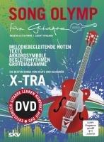 SONG OLYMP für Gitarre mit DVD: DIE BESTEN SONGS VON HEUTE UND KLASSIKER. LEICHT SPIELBARE SONGS FÜR GITARRE. Jeweils mit Texten und ... sowie Begleitrhythmen und Griffdiagrammen