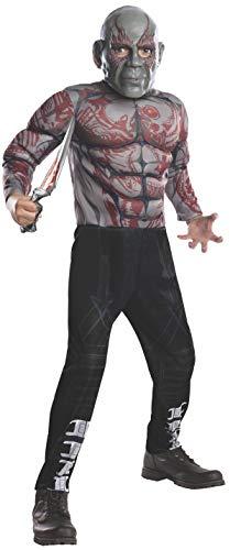 Rubie's Marvel Avengers: Endgame Child's Deluxe Drax Costume & Mask, Small