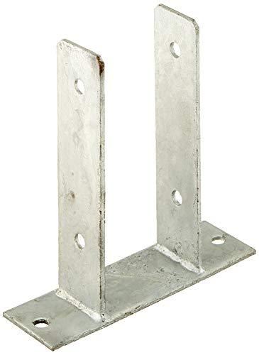 Connex Pfostenträger U-Form, zum Aufschrauben, 91 x 50 x 60 x 200 x 200 x 4 mm, HV4253