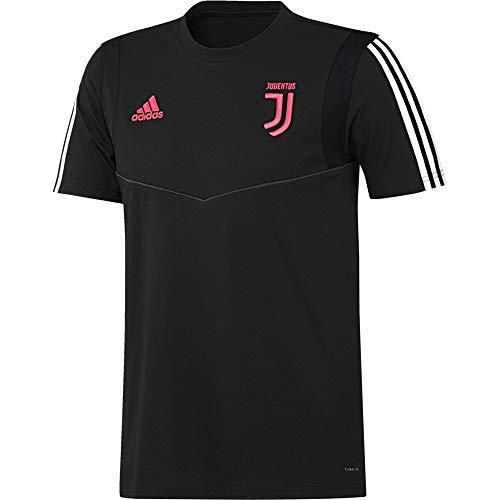 adidas Juventus Tee, Maglietta da Calcio A Maniche Corte Uomo, Nero Dkgrey, XL