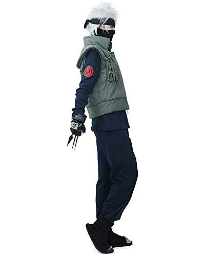 Full Set for Kakashi Hatake Cosplay Costume