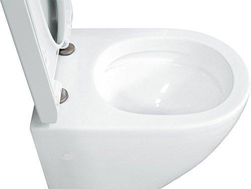 LAVITA KERAMIK HÄNGE-WC-TOILETTE #92035 SPÜLRANDLOS + SOFT-CLOSE - 4
