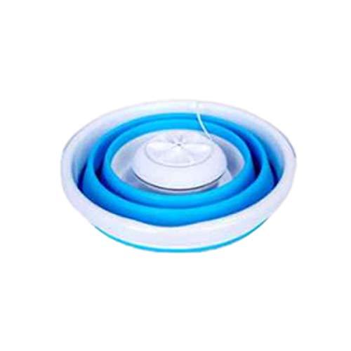 Nihlsen Lavadora plegable Ultrasonic Turbo Mini lavadora Mini calcetines y bragas Artefacto de limpieza