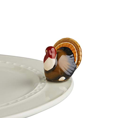 Nora Fleming Hand-Painted Mini: Gobble Gobble (Turkey) A47