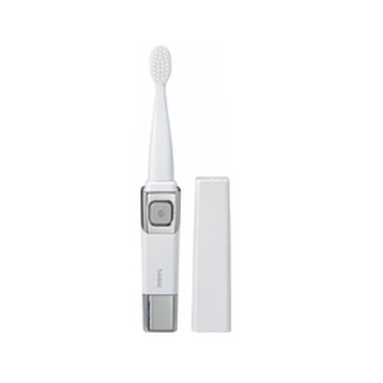 フェミニン出席するバルセロナツインバード 音波振動式歯ブラシ パールホワイト BD-2755PW