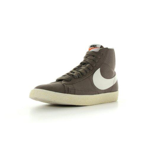 Nike Blazer mid premium vintage canvas, Herren Sneaker  Braun Marron et blanc 44