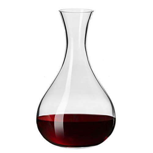 Krosno Wein-Dekanter Wein-Karaffe | 1600 ML | Harmony Kollektion | Rotwein Dekantierer Dekantierkaraffe | Perfekt für zu Hause, Restaurants und Partys