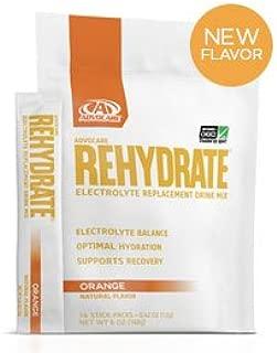 AdvoCare Rehydrate Orange Single-Serving 14-Pouches 0.42 oz