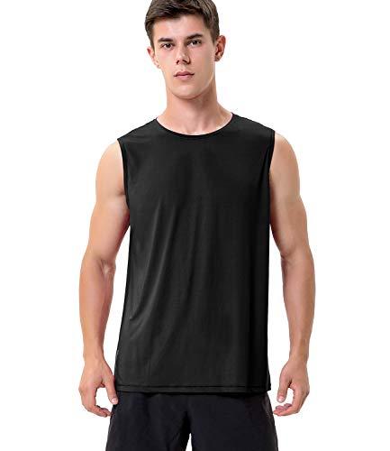 Camiseta sin mangas para hombre que absorbe la humedad chaleco deportivo gimnasio Tank Top