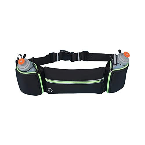 XMDDDA Paquete de cintura para correr para correr, hombres y mujeres deportes de fitness de moda bolsa de pecho multifuncional equipo pequeño al aire libre invisible bolsa de teléfono móvil a prueba d