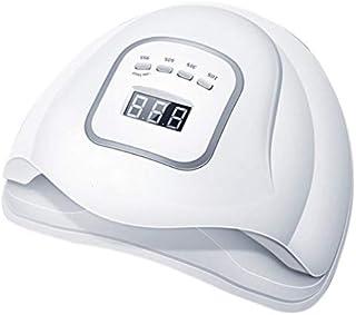 Profesional Uñas Lámpara Profesional llevó la lámpara uv 80 w secador de uñas gel polaco máquina de manicura de doble fuente de luz para curar la herramienta de salón de arte de gel de uñas caliente
